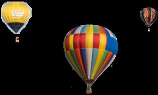 Hero Balloons Background